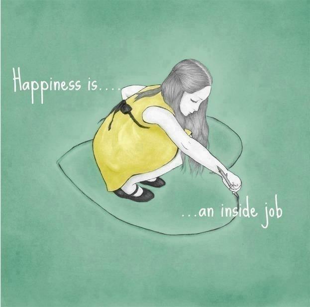 trabajar la felicidad